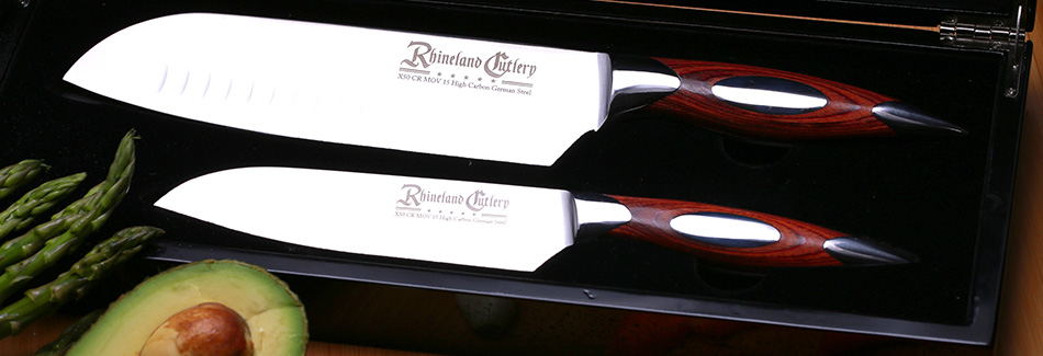 rhineland 2pc santoku set - German Kitchen Knives