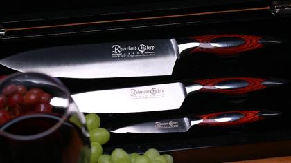 Rhineland 3pc Chef Knife Set