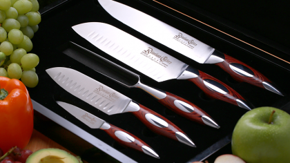 Rhineland 5pc Gourmet Knife Set